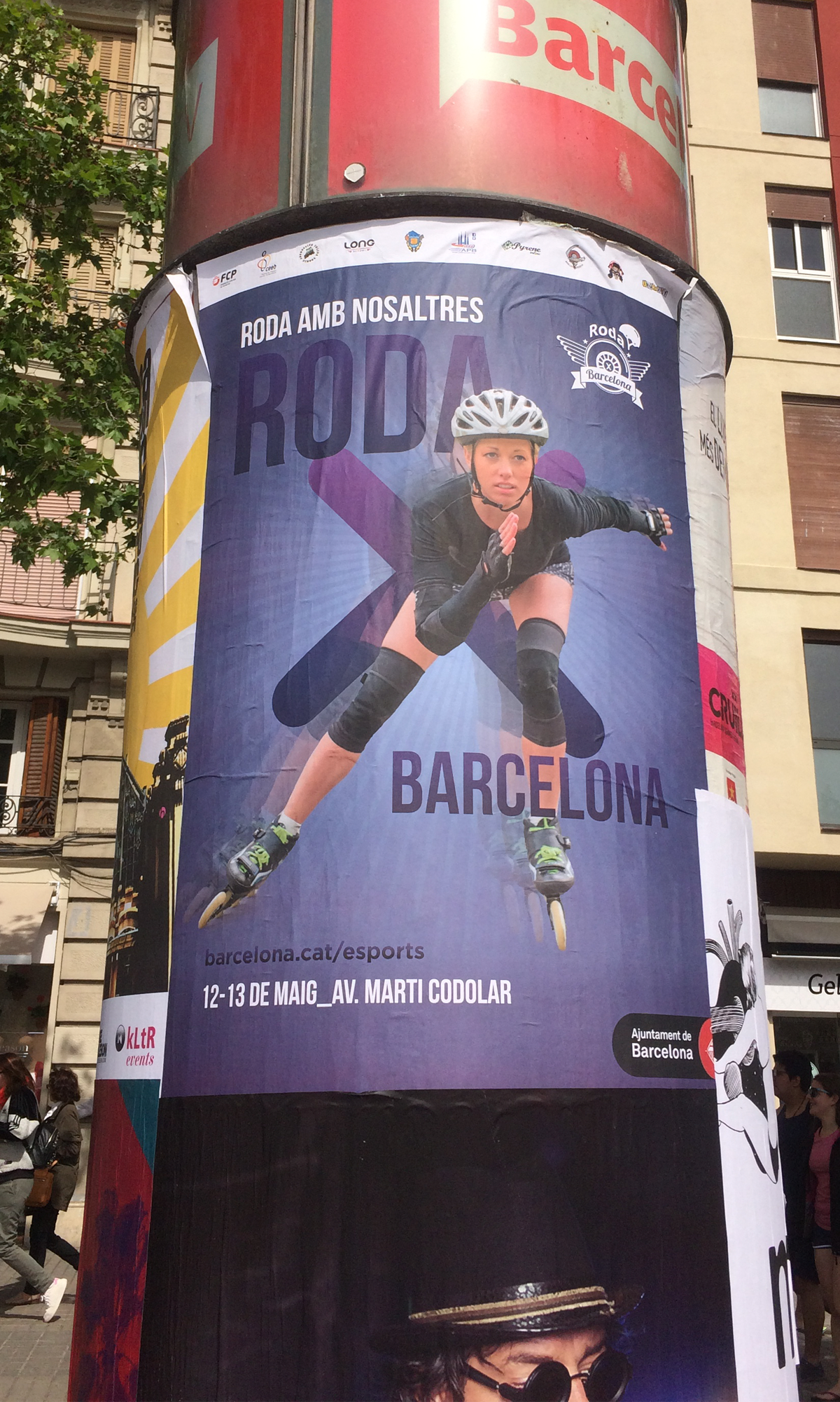 Poster_RodaBarcelona2018_noiaPatinadora