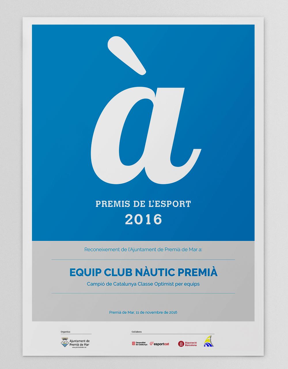 Diploma_PremisA_de_esport_Premia_de_Mar_2016