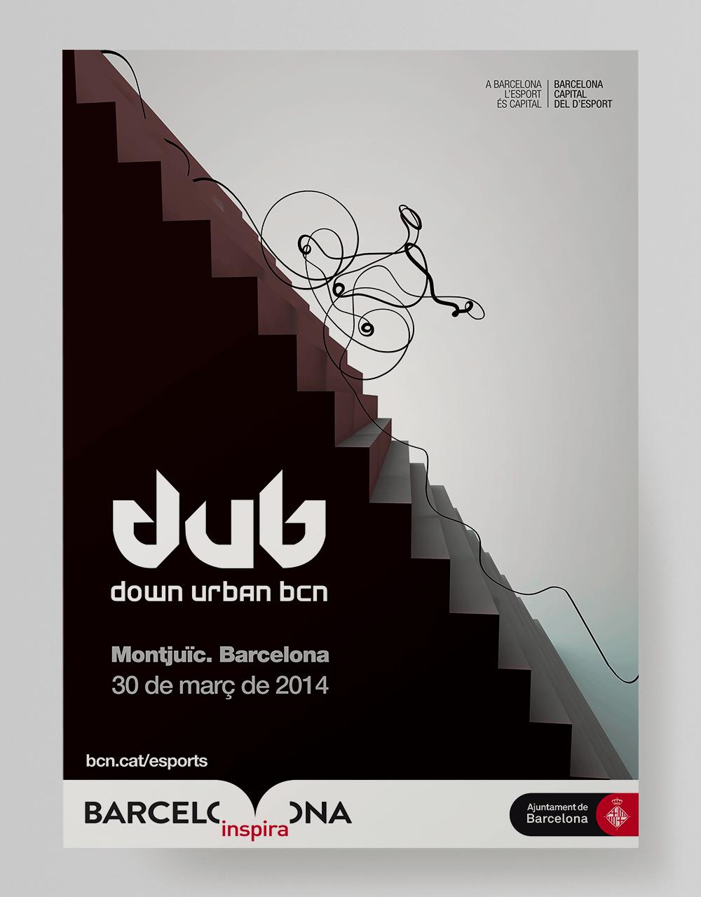 Posters_DUB_downUrbanBarcelona_BCN_Esports