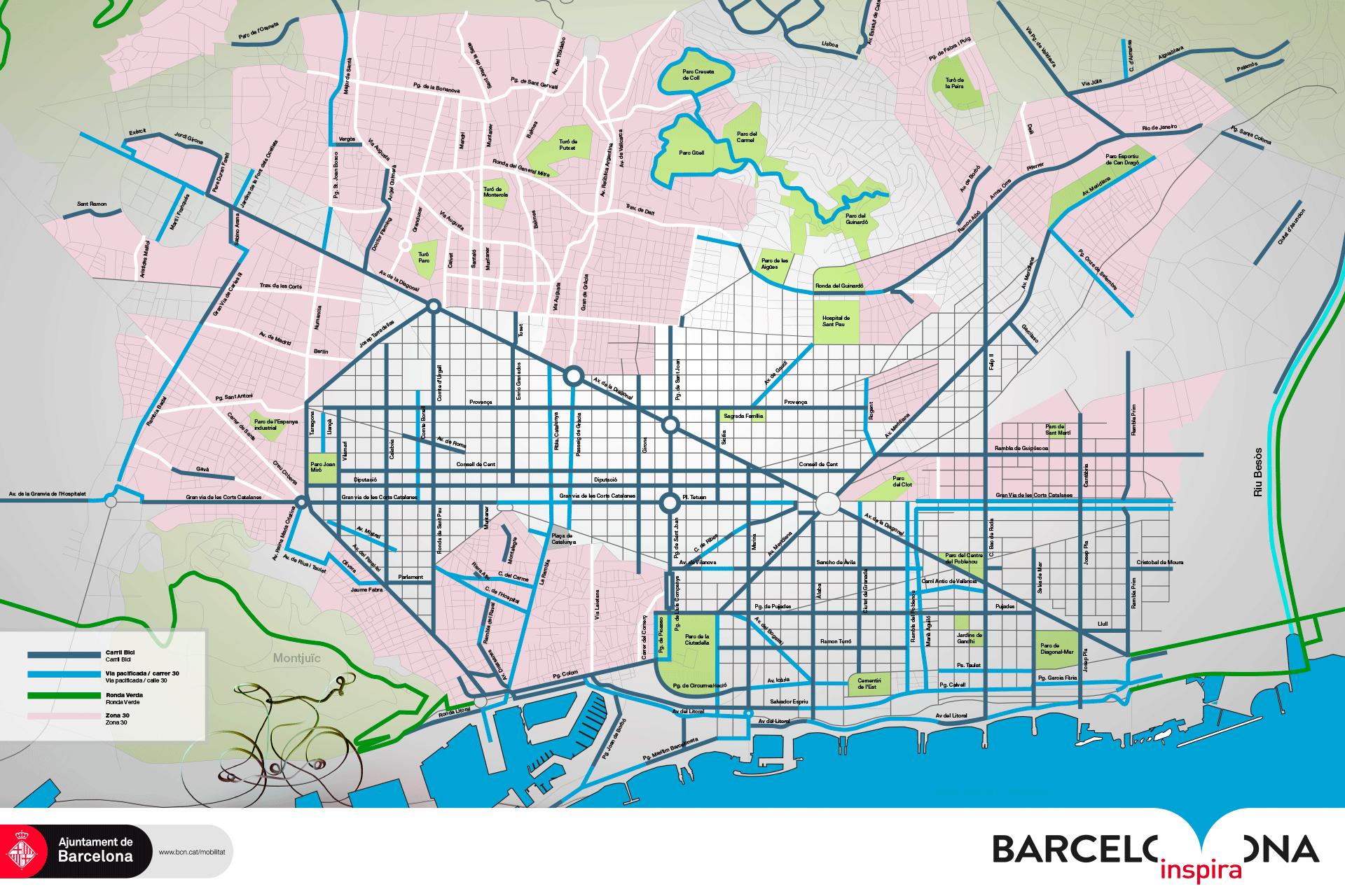 Plano_EnBici_Per_Barcelona_AjuntamentBarcelona